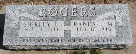 ROGERS, RANDALL M. - Burt County, Nebraska | RANDALL M. ROGERS - Nebraska Gravestone Photos