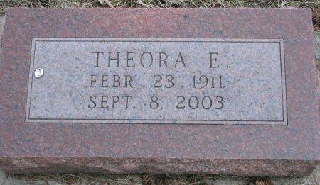 ROGERS, THEORA E. - Burt County, Nebraska | THEORA E. ROGERS - Nebraska Gravestone Photos