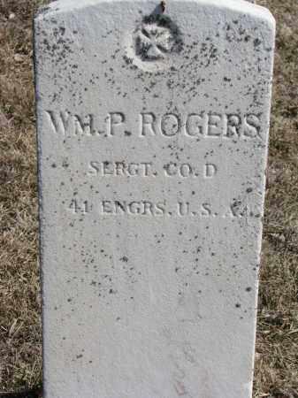ROGERS, WM. P. - Burt County, Nebraska | WM. P. ROGERS - Nebraska Gravestone Photos