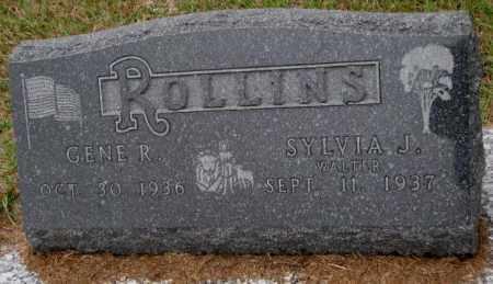 ROLLINS, SYLVIA J. - Burt County, Nebraska | SYLVIA J. ROLLINS - Nebraska Gravestone Photos
