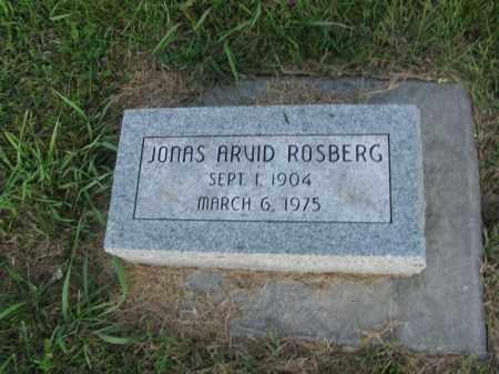 ROSBERG, JONAS ARVID - Burt County, Nebraska | JONAS ARVID ROSBERG - Nebraska Gravestone Photos