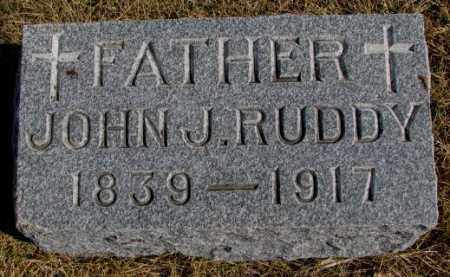 RUDDY, JOHN J. - Burt County, Nebraska | JOHN J. RUDDY - Nebraska Gravestone Photos