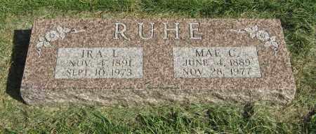 RUHE, MAE C. - Burt County, Nebraska | MAE C. RUHE - Nebraska Gravestone Photos