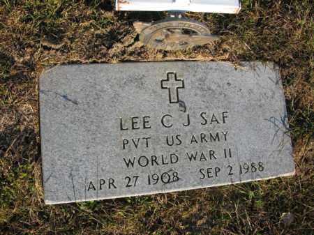 SAF, LEE C.J. - Burt County, Nebraska   LEE C.J. SAF - Nebraska Gravestone Photos