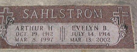 PINKLEY SAHLSTROM, EVELYN B. - Burt County, Nebraska   EVELYN B. PINKLEY SAHLSTROM - Nebraska Gravestone Photos