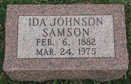 JOHNSON SAMSON, IDA - Burt County, Nebraska | IDA JOHNSON SAMSON - Nebraska Gravestone Photos