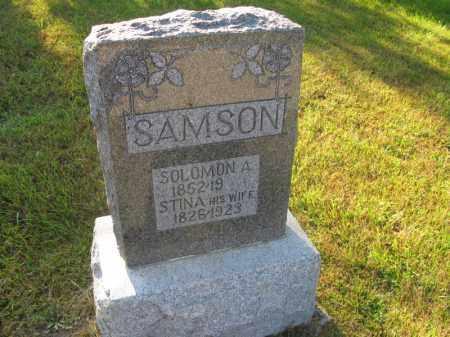 SAMSON, STINA - Burt County, Nebraska   STINA SAMSON - Nebraska Gravestone Photos