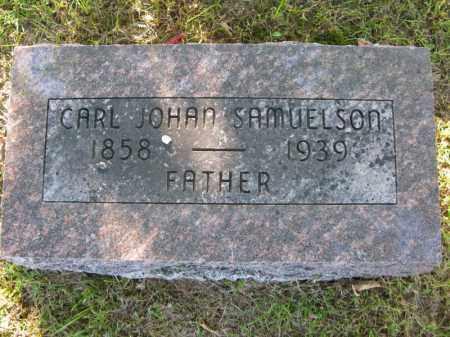 SAMUELSON, CARL JOHAN - Burt County, Nebraska | CARL JOHAN SAMUELSON - Nebraska Gravestone Photos