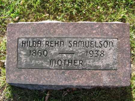 REHN SAMUELSON, HILDA - Burt County, Nebraska | HILDA REHN SAMUELSON - Nebraska Gravestone Photos