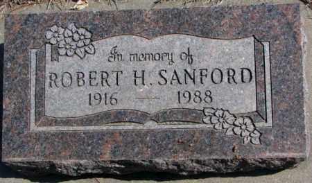 SANFORD, ROBERT H. - Burt County, Nebraska | ROBERT H. SANFORD - Nebraska Gravestone Photos