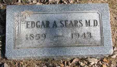 SEARS, EDGAR A. (M.D.) - Burt County, Nebraska | EDGAR A. (M.D.) SEARS - Nebraska Gravestone Photos