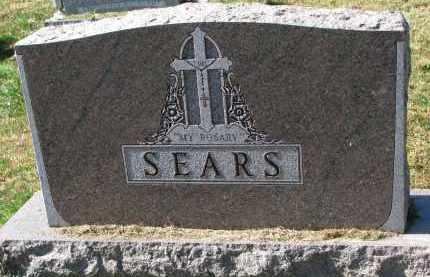 SEARS, FAMILY STONE - Burt County, Nebraska | FAMILY STONE SEARS - Nebraska Gravestone Photos