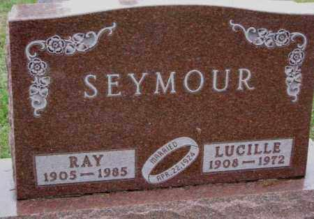 SEYMOUR, RAY - Burt County, Nebraska | RAY SEYMOUR - Nebraska Gravestone Photos