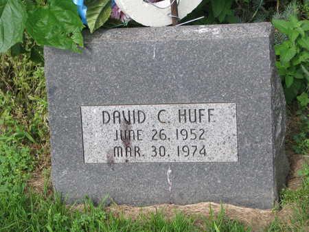 HUFF, DAVID C. - Burt County, Nebraska | DAVID C. HUFF - Nebraska Gravestone Photos