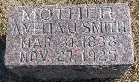 SMITH, AMELIA JANE - Burt County, Nebraska | AMELIA JANE SMITH - Nebraska Gravestone Photos