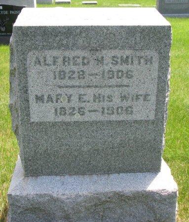 SMITH, ALFRED N. - Burt County, Nebraska   ALFRED N. SMITH - Nebraska Gravestone Photos