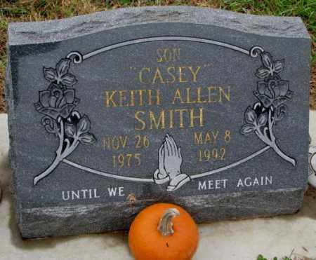 SMITH, CASEY KEITH ALLEN - Burt County, Nebraska | CASEY KEITH ALLEN SMITH - Nebraska Gravestone Photos