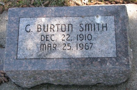 SMITH, C. BURTON - Burt County, Nebraska   C. BURTON SMITH - Nebraska Gravestone Photos