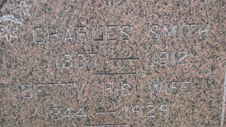 SMITH, CHARLES (CLOSE UP) - Burt County, Nebraska | CHARLES (CLOSE UP) SMITH - Nebraska Gravestone Photos
