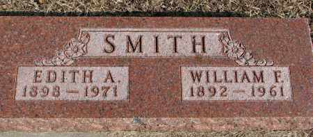 SMITH, WILLIAM F. - Burt County, Nebraska | WILLIAM F. SMITH - Nebraska Gravestone Photos