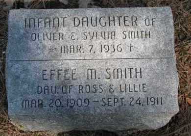 SMITH, INFANT DAUGHTER - Burt County, Nebraska | INFANT DAUGHTER SMITH - Nebraska Gravestone Photos