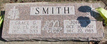SMITH, GRACE  - Burt County, Nebraska | GRACE  SMITH - Nebraska Gravestone Photos
