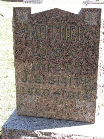 SMITH, LOIS V. - Burt County, Nebraska | LOIS V. SMITH - Nebraska Gravestone Photos