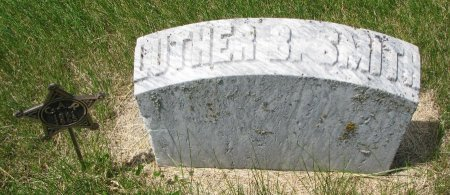 SMITH, LUTHER B. (FOOT STONE)  - Burt County, Nebraska | LUTHER B. (FOOT STONE)  SMITH - Nebraska Gravestone Photos