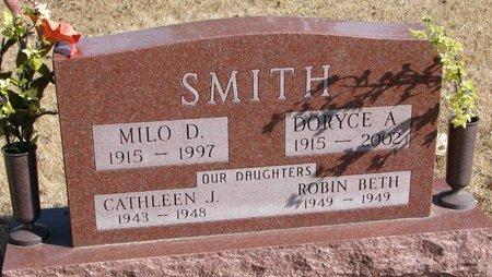 SMITH, DORYCE A. - Burt County, Nebraska | DORYCE A. SMITH - Nebraska Gravestone Photos