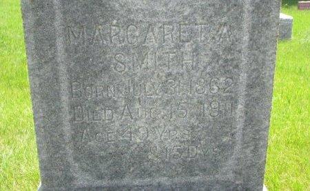 SMITH, MARGARET A. (CLOSE UP) - Burt County, Nebraska   MARGARET A. (CLOSE UP) SMITH - Nebraska Gravestone Photos
