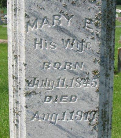 SMITH, MARY E. (CLOSE UP) - Burt County, Nebraska   MARY E. (CLOSE UP) SMITH - Nebraska Gravestone Photos