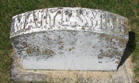 SMITH, MARY E. (FOOT STONE) - Burt County, Nebraska   MARY E. (FOOT STONE) SMITH - Nebraska Gravestone Photos