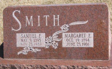 SMITH, MARGARET E. - Burt County, Nebraska | MARGARET E. SMITH - Nebraska Gravestone Photos