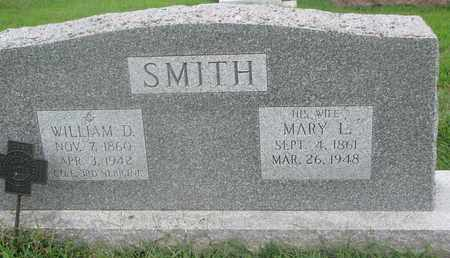 SMITH, WILLIAM D. - Burt County, Nebraska | WILLIAM D. SMITH - Nebraska Gravestone Photos