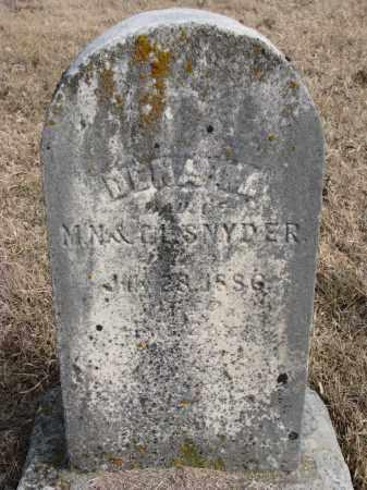 SNYDER, DENA M. - Burt County, Nebraska | DENA M. SNYDER - Nebraska Gravestone Photos
