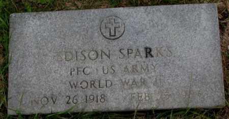 SPARKS, EDISON - Burt County, Nebraska | EDISON SPARKS - Nebraska Gravestone Photos