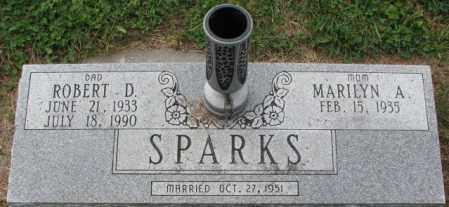 SPARKS, ROBERT D. - Burt County, Nebraska | ROBERT D. SPARKS - Nebraska Gravestone Photos
