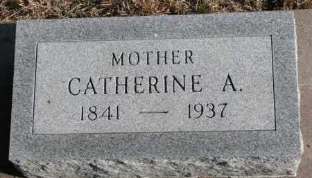 SQUIRES, CATHERINE A. - Burt County, Nebraska | CATHERINE A. SQUIRES - Nebraska Gravestone Photos
