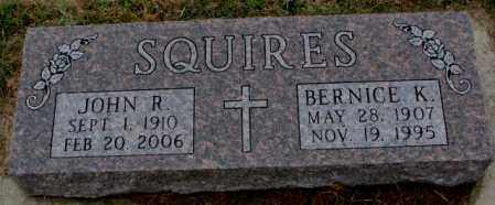 SQUIRES, JOHN R. - Burt County, Nebraska | JOHN R. SQUIRES - Nebraska Gravestone Photos