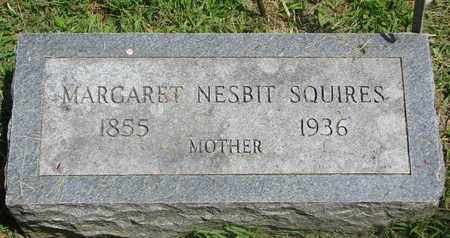 SQUIRES, MARGARET - Burt County, Nebraska | MARGARET SQUIRES - Nebraska Gravestone Photos