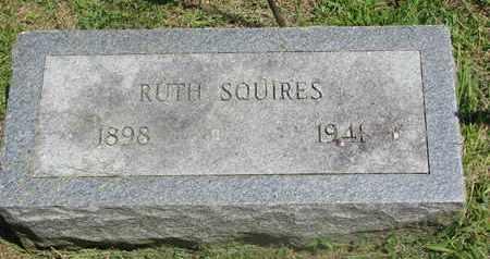 SQUIRES, RUTH - Burt County, Nebraska   RUTH SQUIRES - Nebraska Gravestone Photos