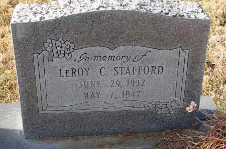 STAFFORD, LEROY C. - Burt County, Nebraska   LEROY C. STAFFORD - Nebraska Gravestone Photos