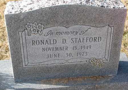 STAFFORD, RONALD D. - Burt County, Nebraska | RONALD D. STAFFORD - Nebraska Gravestone Photos