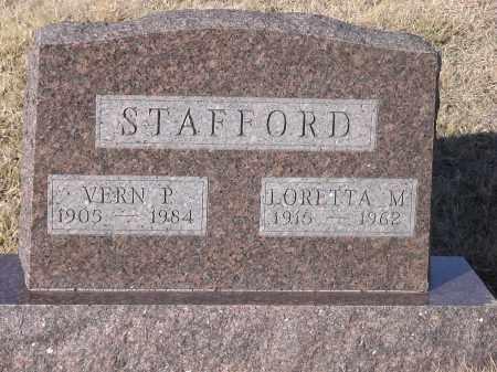 DIMMICK STAFFORD, LORETTA M - Burt County, Nebraska | LORETTA M DIMMICK STAFFORD - Nebraska Gravestone Photos