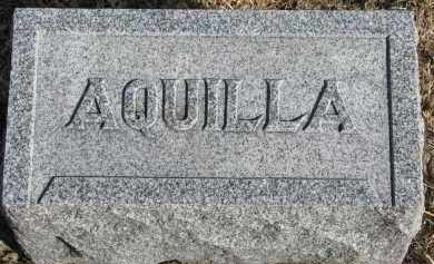 STANTON, AQUILLA #2 - Burt County, Nebraska   AQUILLA #2 STANTON - Nebraska Gravestone Photos