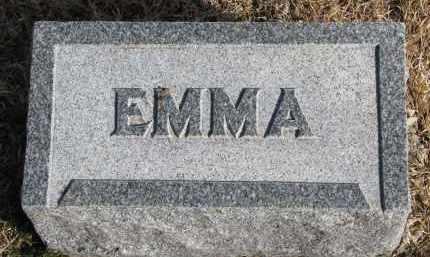 STANTON, EMMA #2 - Burt County, Nebraska   EMMA #2 STANTON - Nebraska Gravestone Photos