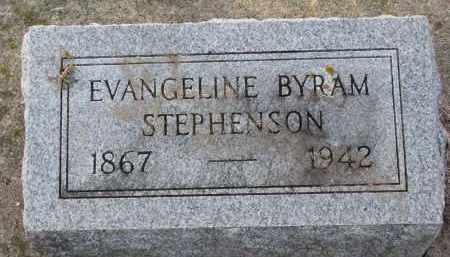 STEPHENSON, EVANGELINE - Burt County, Nebraska   EVANGELINE STEPHENSON - Nebraska Gravestone Photos