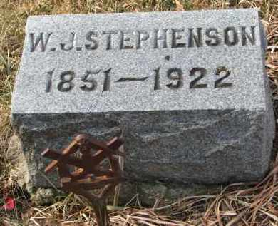 STEPHENSON, W.J. - Burt County, Nebraska   W.J. STEPHENSON - Nebraska Gravestone Photos
