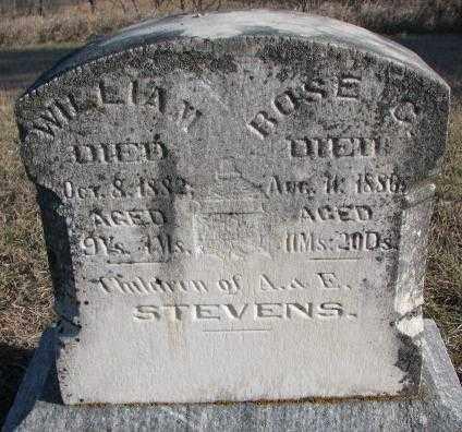STEVENS, ROSE C. - Burt County, Nebraska | ROSE C. STEVENS - Nebraska Gravestone Photos