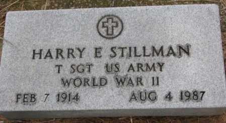 STILLMAN, HARRY E. - Burt County, Nebraska | HARRY E. STILLMAN - Nebraska Gravestone Photos